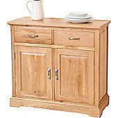 Aspen Solid Oak Small Sideboard