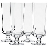 Hurricane cocktail crystal glass 4 pack