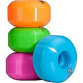 Enuff Refreshers Fluo Mix 53mm Skateboard Wheels