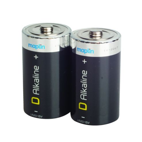 Maplin D Alkaline Battery