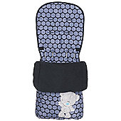 Tiny Tatty Teddy Footmuff 2014 (Navy)