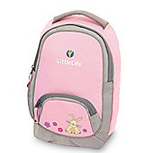 LittleLife Adventurer Kids' Daysack, Pink Rabbit
