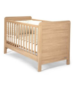 Mamas & Papas - Rialto Cot/Toddler Bed - Natural Oak Effect