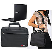 Navitech - Black 15.6 inch Laptop Case for the ACER ES15