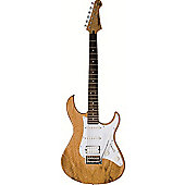 Yamaha Pacifica 012 Exotic Wood Top Guitar - Natural