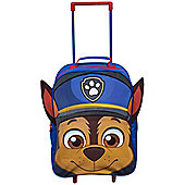 Paw Patrol 'Chase' Boys PVC Front With Ears Wheeled Bag