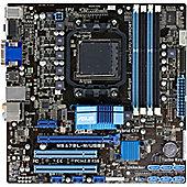 Asus M5A78L-M/USB3 Desktop Motherboard - AMD 760G Chipset - Socket AM3+