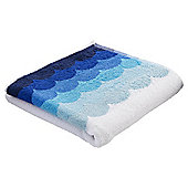 Tesco Ombre Wave Design Hand Towel