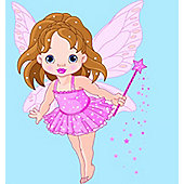 Fabulous Fairy LED Canvas Art - Battery Operated