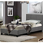 Berlin Fabric Bed - Grey