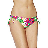 F&F Tropical Print Bikini Briefs - Multi