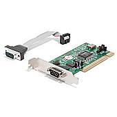 StarTech RS232 2 Port PCI Low Profile Serial Adaptor Card with 16550 UART