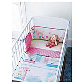 Tesco Cot Bumper And Quilt - Betsy