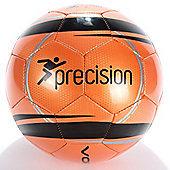 Precision Training Vortex Football Fluorescent Orange/Black Size 4