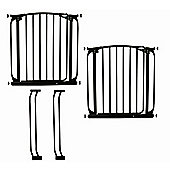 Dream Baby Swing Close Security Gate Value Pack - Black