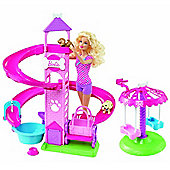 Barbie Slide & Spin pups