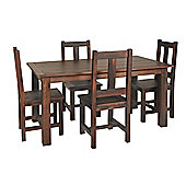 Home Essence Vintage 5 Piece Dining Set