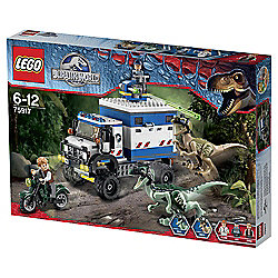 LEGO Jurassic World Raptor Rampage 75917