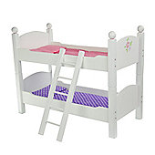 "Olivia's Little World - Little Princess 18"" Doll Furniture - Double Bunk Bed"