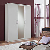Amos Mann furniture Venice 3 Door Wardrobe - White