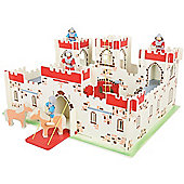 Bigjigs Toys JT113 Heritage Playset King Arthur's Castle