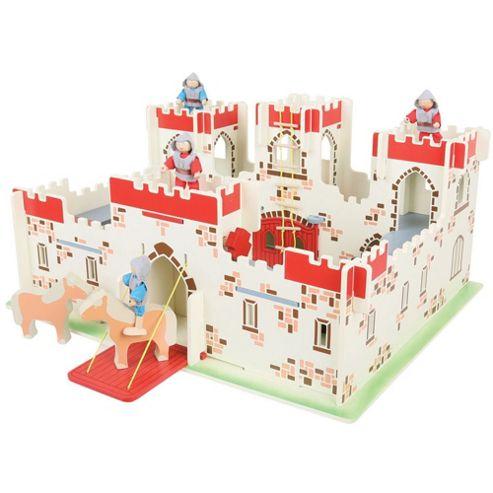 Bigjigs Toys JT113 Heritage Playset King Arthur's Castle