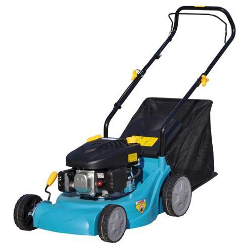 Tesco 98.5cc Hand-push Petrol Rotary Lawn Mower