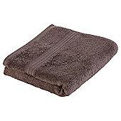 Tesco Hygro cotton Hand Towel chocolate