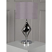 Pied A Terre Orla Plated Glass Table Lamp