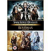 Snow White And The Huntsman/ The Huntsman: Winter's War DVD