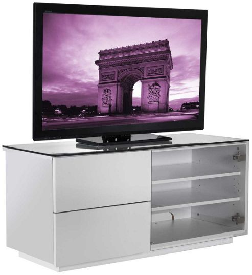 UK-CF Gloss White TV Cabinet for up to 50 inch