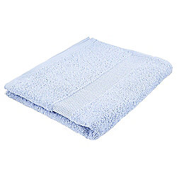 Tesco Basics Hand Towel, Powder Blue