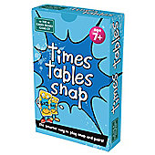 Green board games Times Tables SNAP