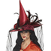 Witch Hat - Red