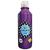 Go Create Ready Mixed Paint 300ml - Purple