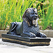 Egyptian Garden Sculpture / Ornament - Weathered Black