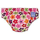 Bambino Mio Swim Nappy - Large Pink Daisy 9-12kg