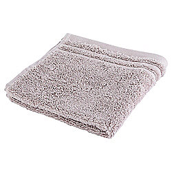 Tesco Egyptian Cotton Face Cloth, Quartz