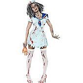 Zombie Sailor - Adult Costume Size: 6-8