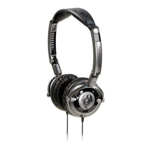 Skullcandy Lowrider On Ear Headphones in Black & Black