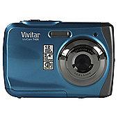 Vivitar VT426 Waterproof Camera, 12MP, 3m Waterproof, Blue