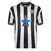 Newcastle United 1984 Home Shirt - Black & White