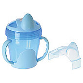 VITAL BABY TWO HANDLED TRAINER CUP BLUE