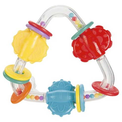 Tesco Loves Baby Teething Triangle teether