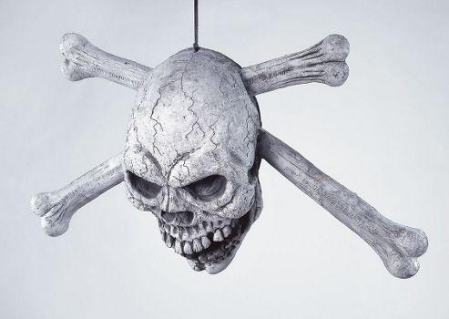 Skull & Crossbone Door Prop