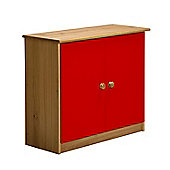 Verona Mid-Sleeper Cupboard Colour Antique and Red