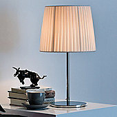 Lucente Nura Table Lamp in Ivory Pongè