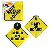 Tesco Baby On Board Sign