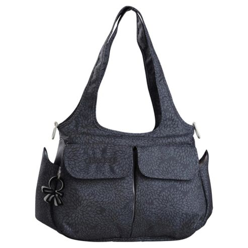 Okiedog ViVa Sassy Tote Changing Bag, Charcoal Grey