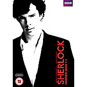 Sherlock Series 1-3 Box Set (DVD)